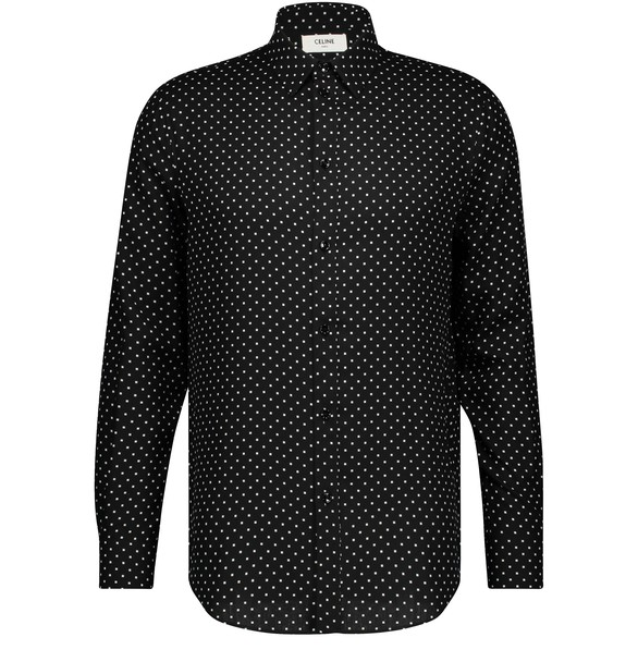 CELINE Classic shirt with a modern collar