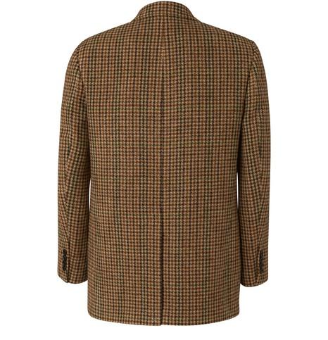 CELINELondon jacket in checked wool