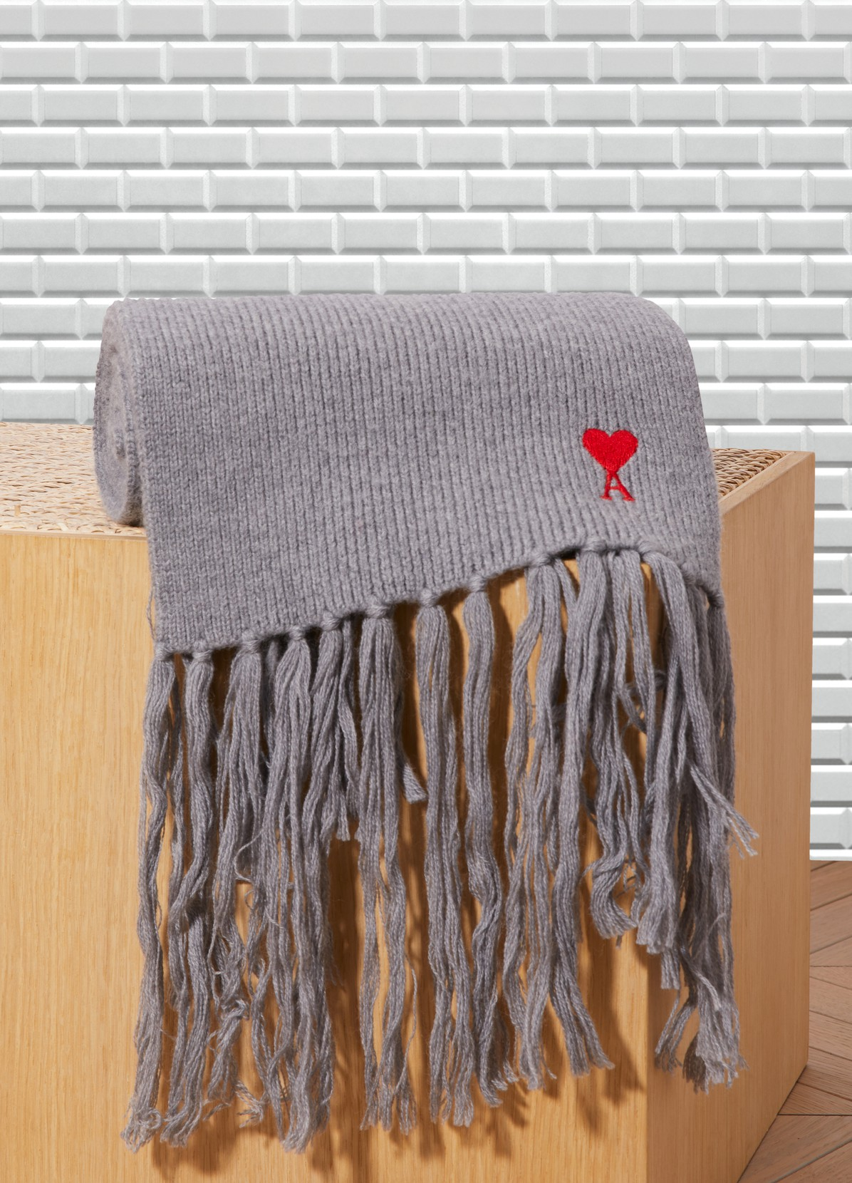 AMI Wool english scarf