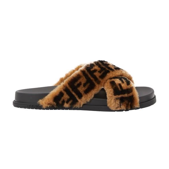 FENDIFF fur sandals