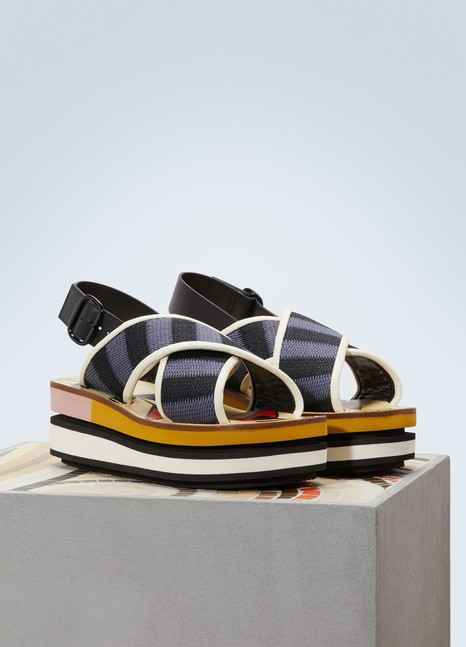 Marni Wedge sandals