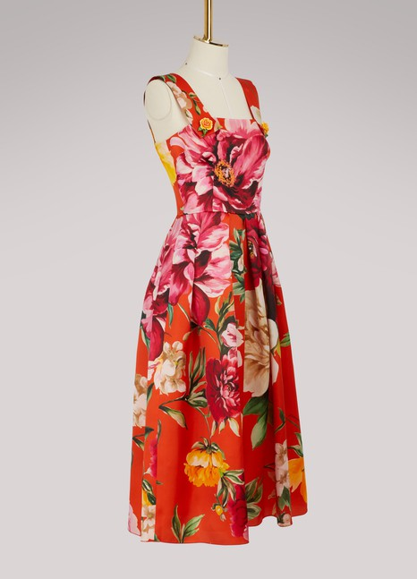 Dolce & Gabbana Flowers maxi dress