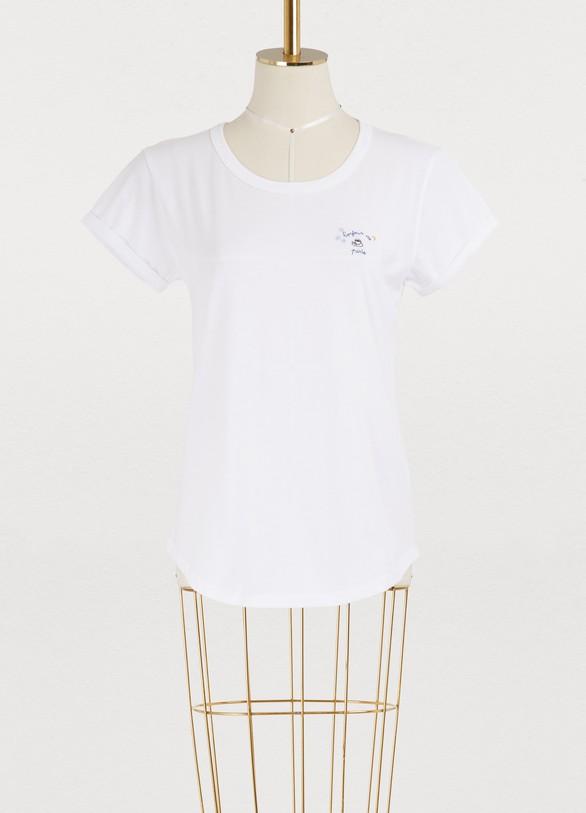 Maison LabicheBonjour de Paris cotton T-shirt