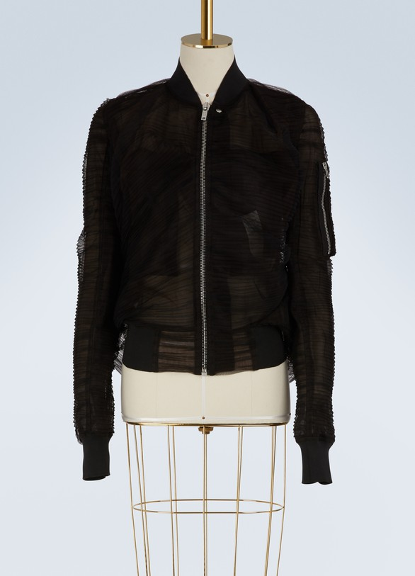 Rick OwensOrganza bomber jacket
