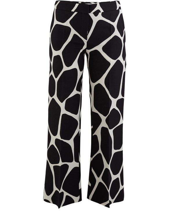 VALENTINOTrousers with a graphic motif
