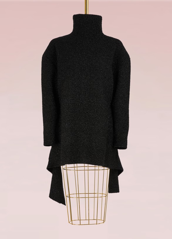 Balenciaga Lurex turtleneck sweater