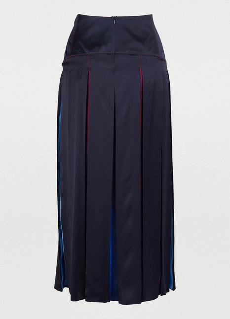 SPORTMAXBea pleated silk skirt