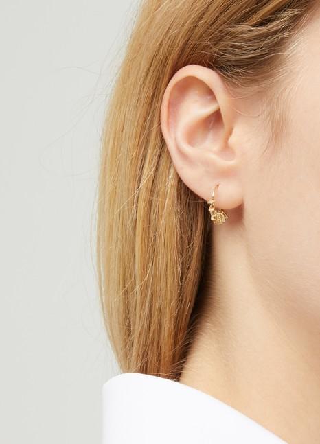 5 OctobreBoucles d'oreilles My Small en vermeil