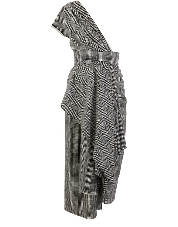 DOLCE & GABBANAPrince of Wales check dress