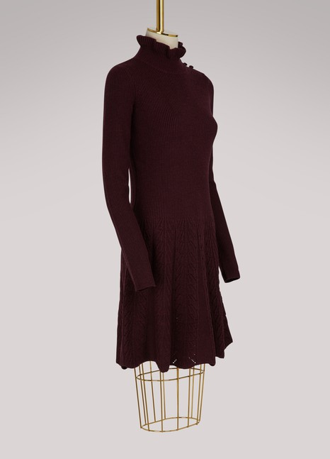 See by Chloé Merino wool dress