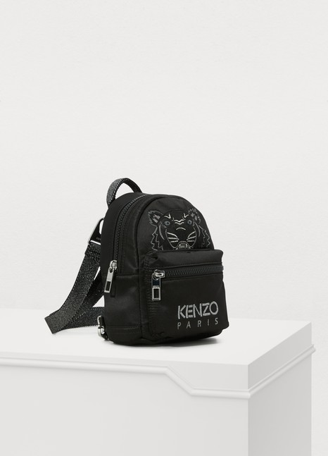 Kenzo Mini satin Tiger rucksack 'Holiday Capsule'