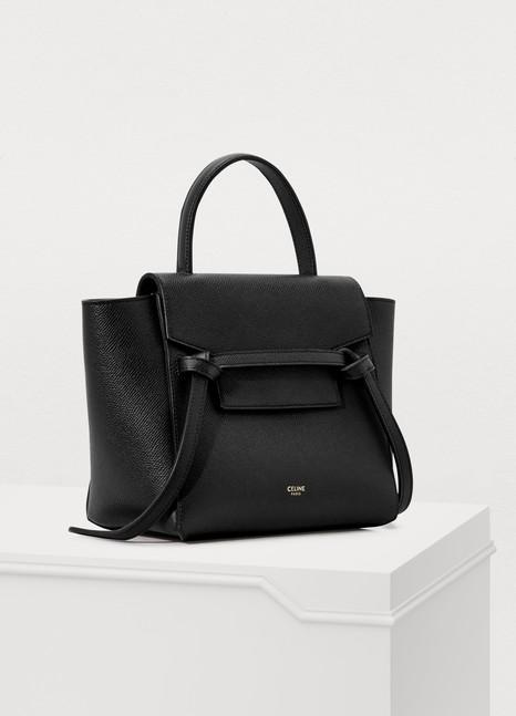 CelineBelt micro model bag in grained leather