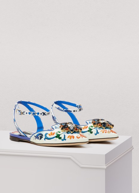 Dolce & GabbanaBellucini sling back