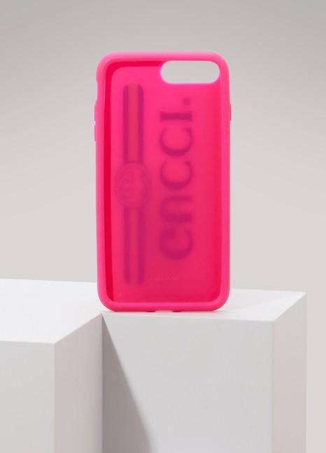 GucciRubber iPhone 7 Plus case with Gucci logo