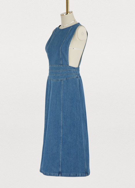 Vanessa Seward Gloria denim dress