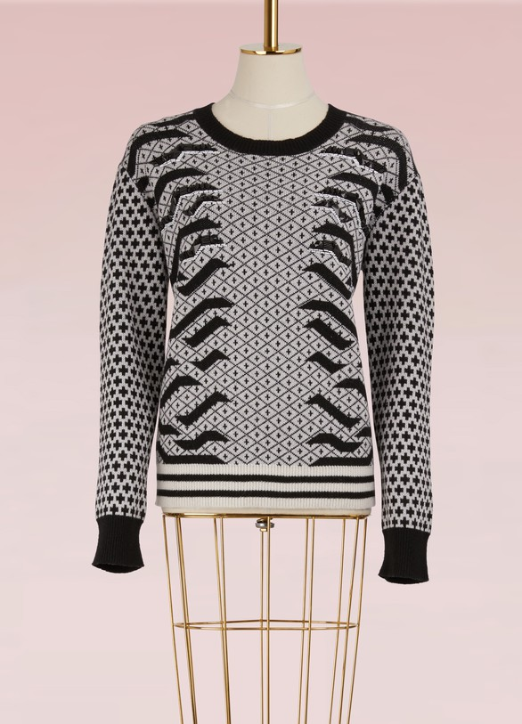 Kenzo Pull col rond en laine
