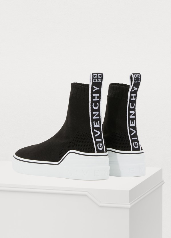 2a5a563b1b96 ... Givenchy George V sock-sneakers ...