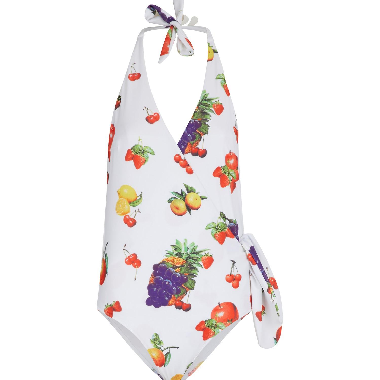 Maillot de bain 1 pièce imprimés fruits