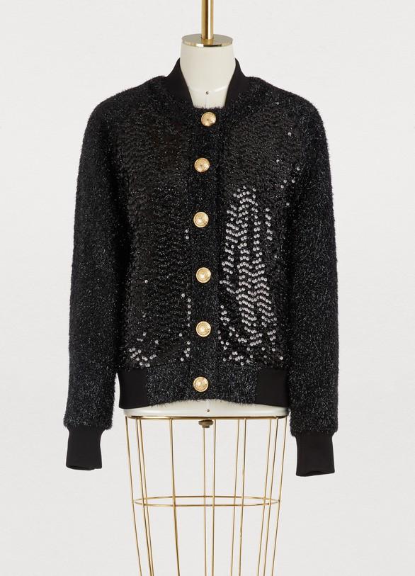 BalmainStrass bomber jacket