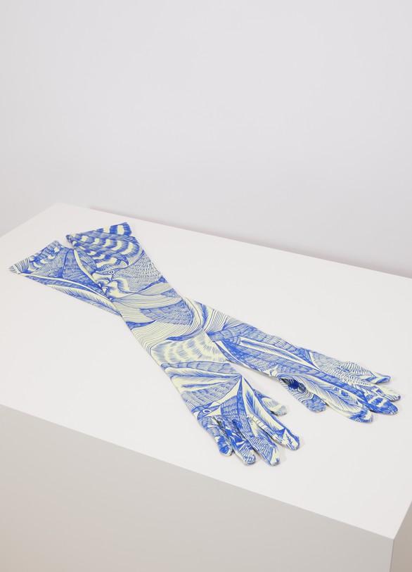 Dries Van NotenPrinted long gloves