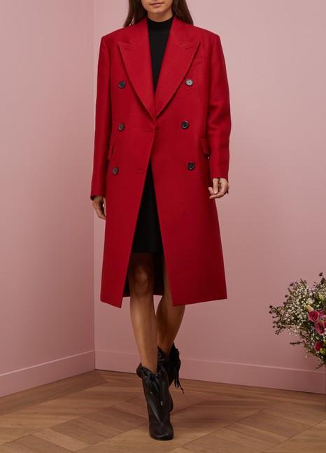 Jil SanderDouble Breasted Woolen Coat