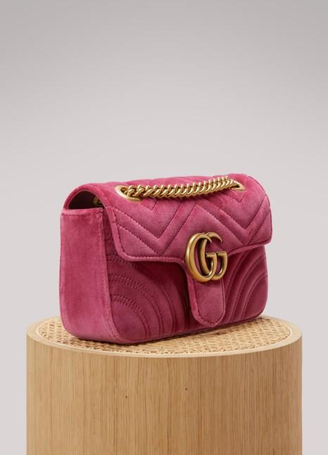 GucciMini sac GG Marmont en velours