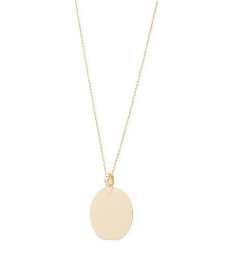 5 OCTOBRE Izumi yellow gold necklace