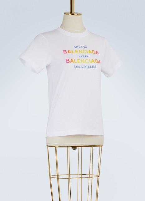 BALENCIAGAT-shirt Paris Milano LA