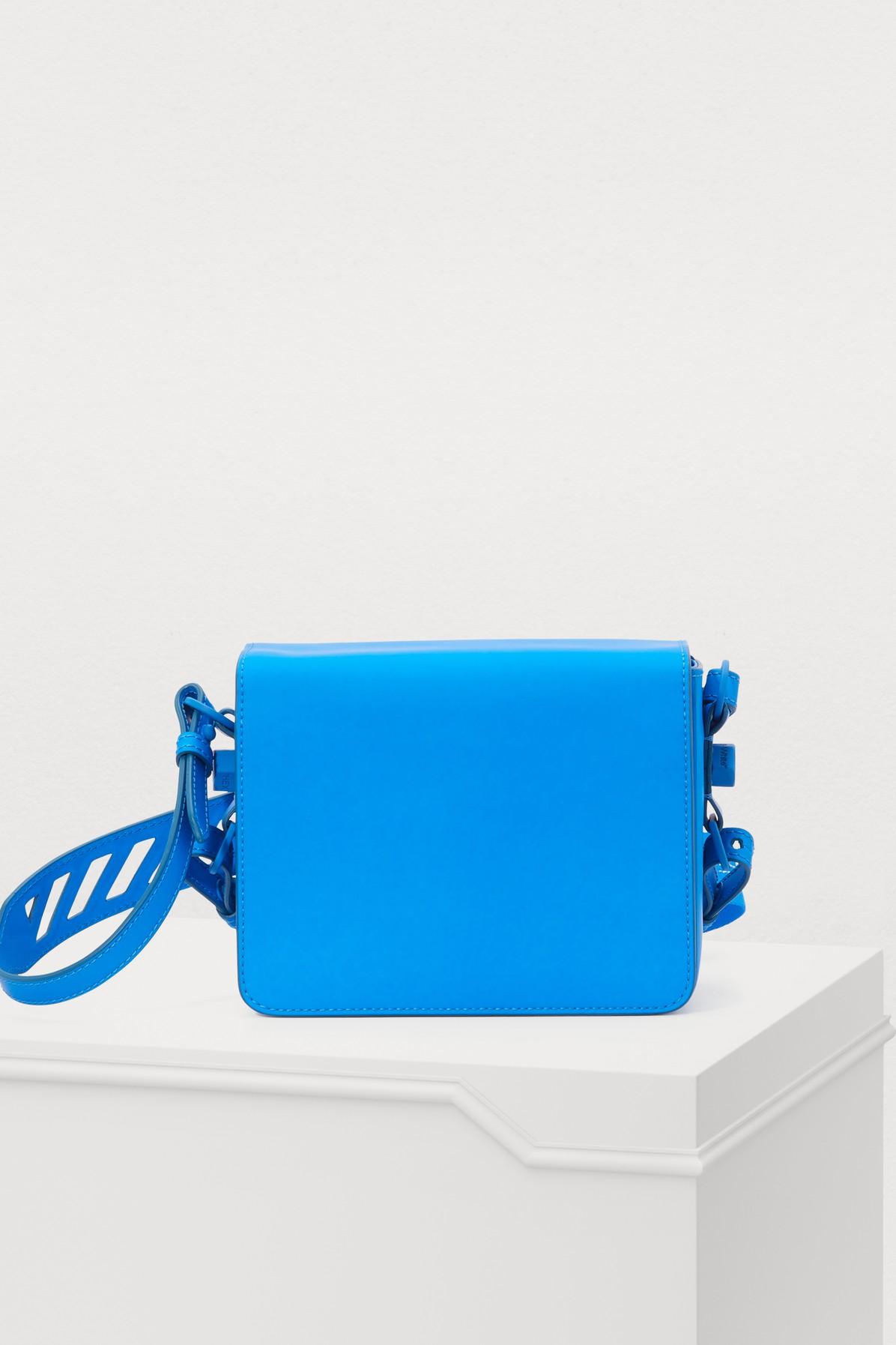OFF-WHITE   Binder Clip Crossbody Bag   Goxip