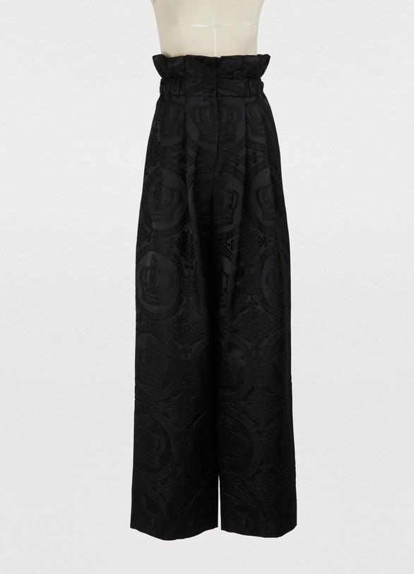 Dolce & GabbanaHigh-waisted pants