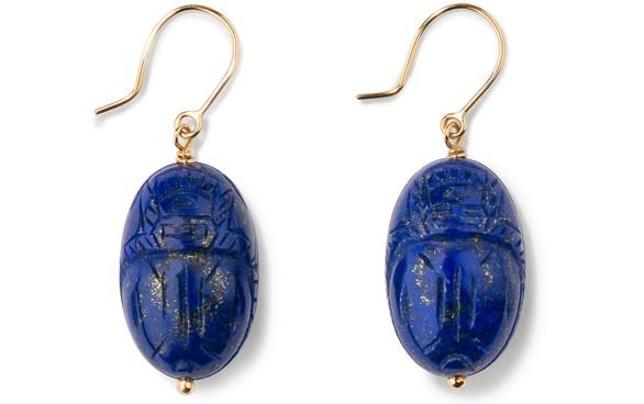 AURELIE BIDERMANNLapis lazuli earrings