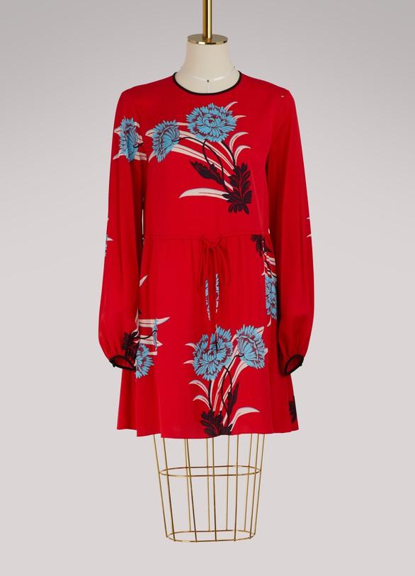 Diane Von FurstenbergRobe courte en soie