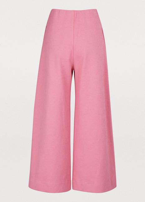 HARRIS WHARF LONDONWide cotton pants