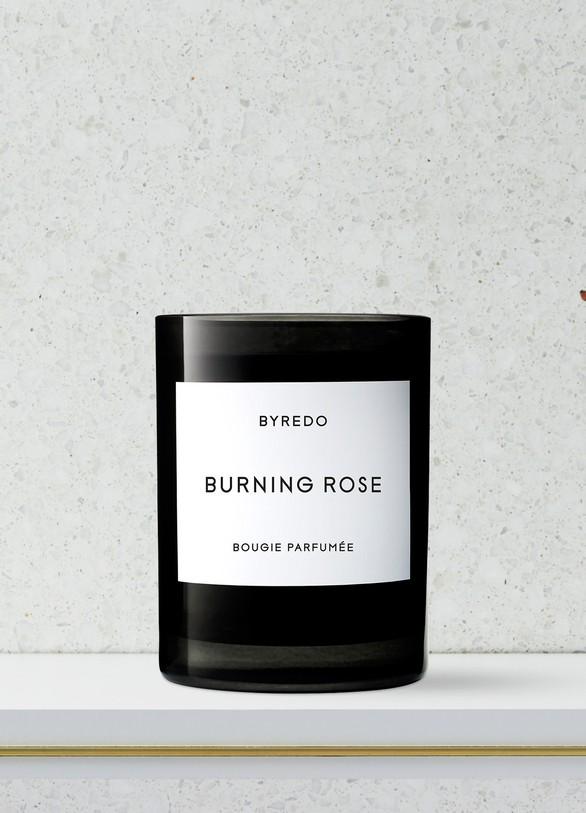 BYREDOBougie parfumée Burning Rose 70 g