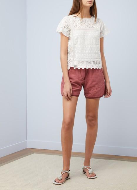 Vanessa BrunoTop Illario en coton et lin