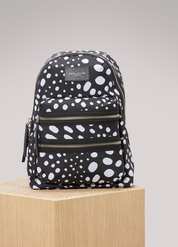 Marc JacobsWavy Spot Printed Biker Backpack