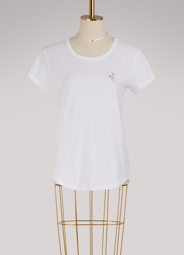 Maison LabicheT-shirt main mystique en coton