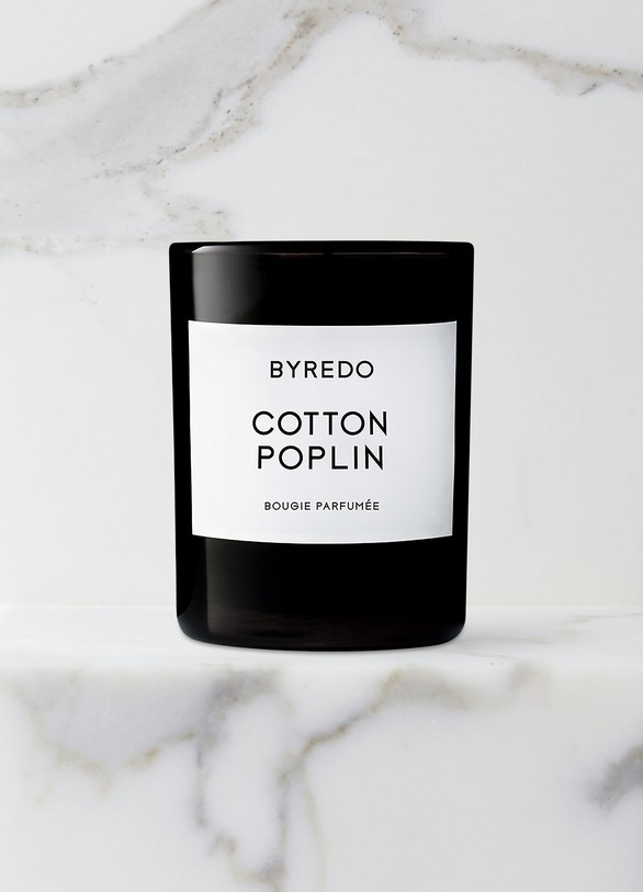 BYREDOBougie parfumée Cotton Poplin 70 g