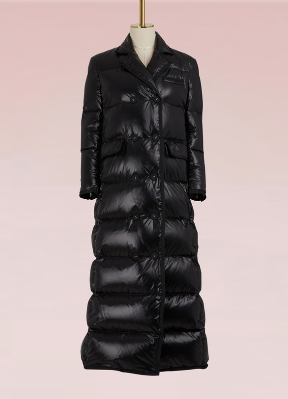 Thom BrowneLong Buttoned Down Jacket