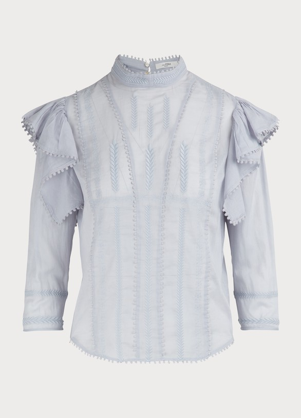 542efa73ca Isabel Marant Etoile Anny cotton top