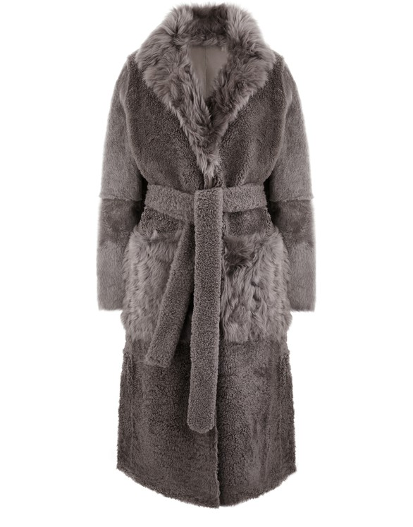 YVES SALOMON Lambswool coat