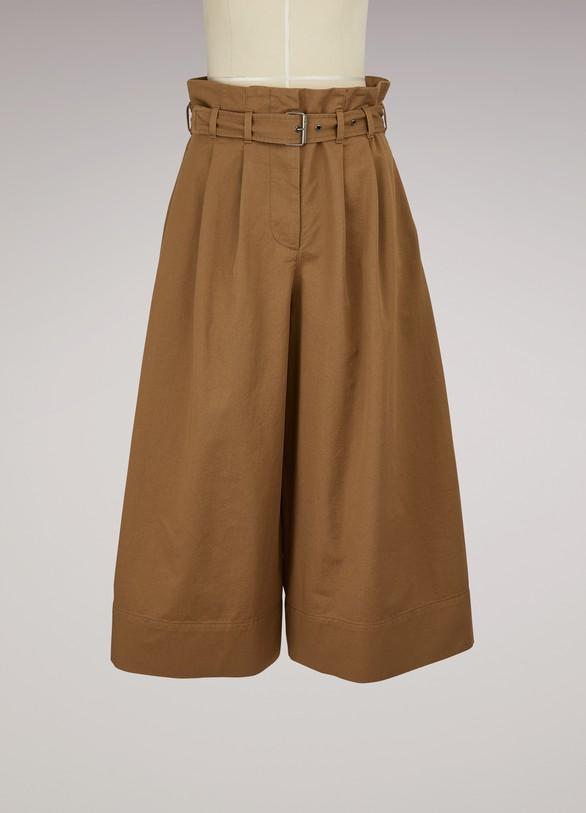 Maison MargielaJupe-culotte en coton