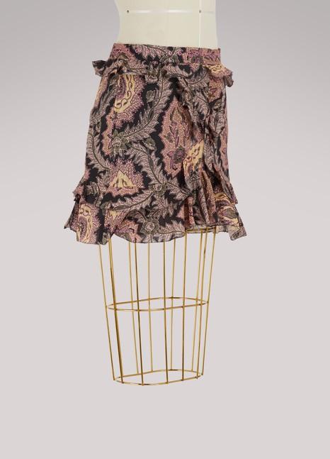 Isabel MarantXugy ruffled skirt