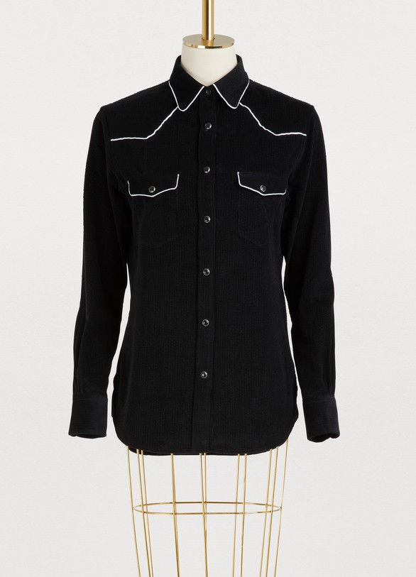 Officine Générale Felice cotton shirt