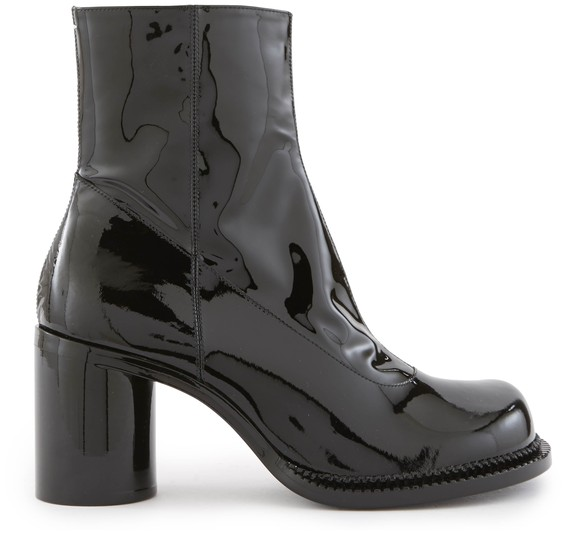MAISON MARGIELA Patent leather ankle boots