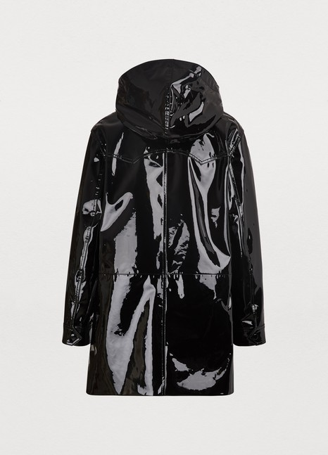 CELINEPatent leather duffle coat
