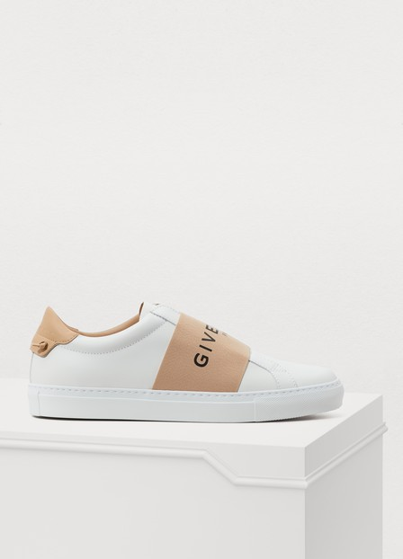 Givenchy Urban Street Sneakers In Rose Poudre Blanc