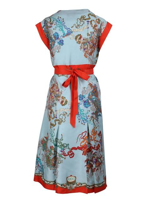 GUCCIRoi Soleil silk dress