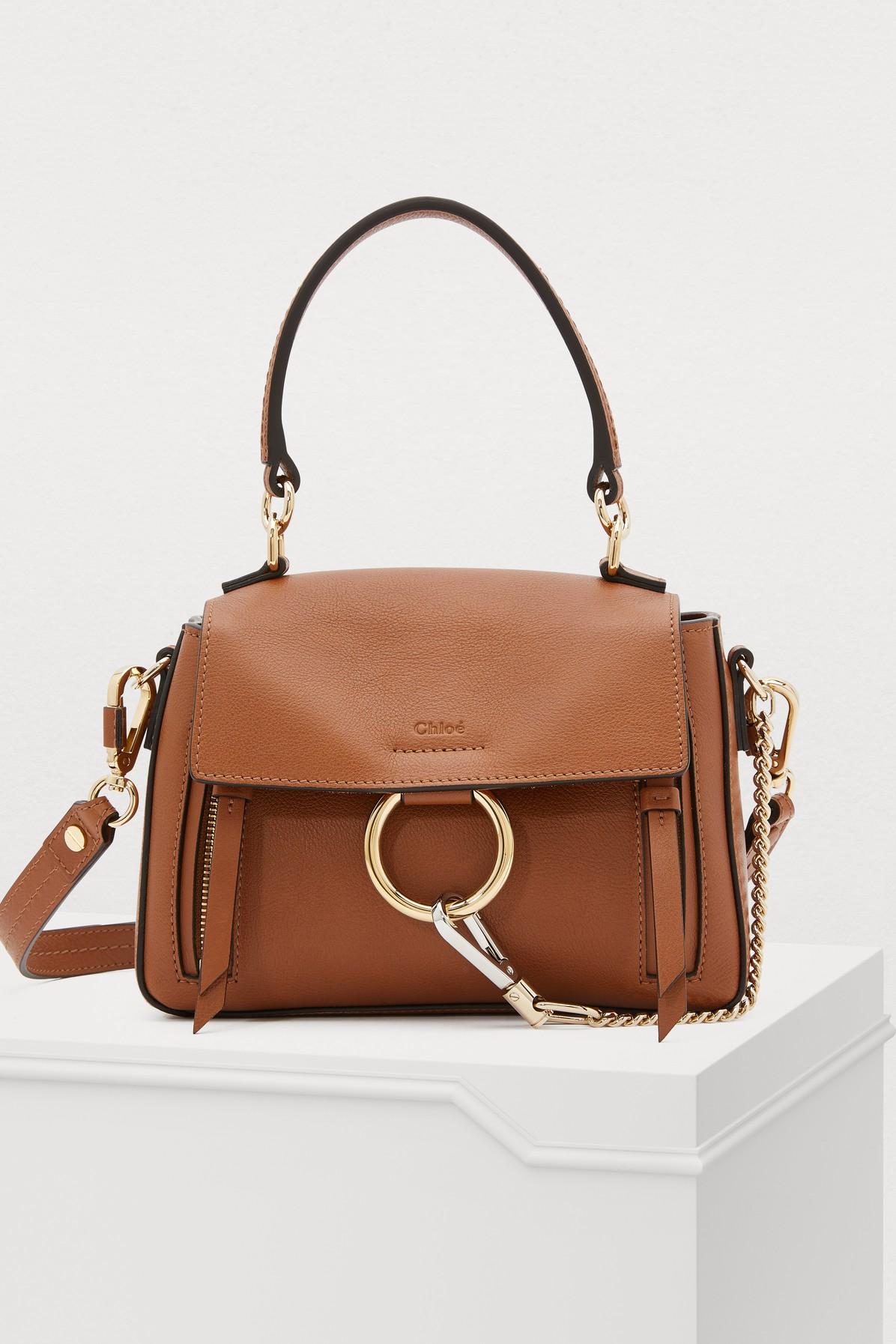 CHLOÉ   Mini Faye Day Bag   Goxip