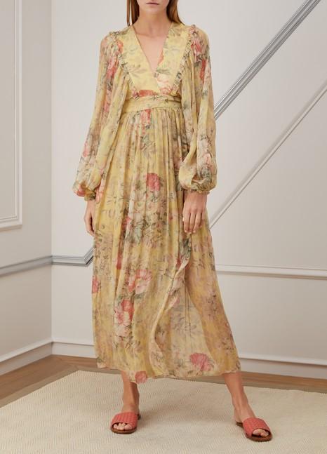 ZimmermannMelody silk maxi dress